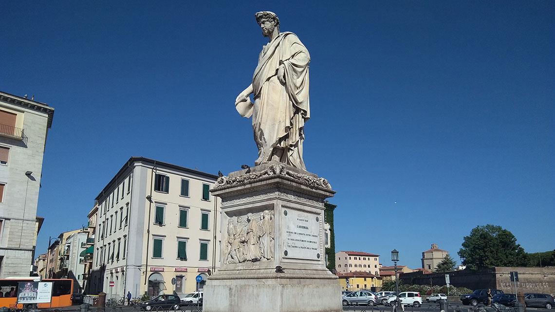 Statua di Leopoldo II – Livorno